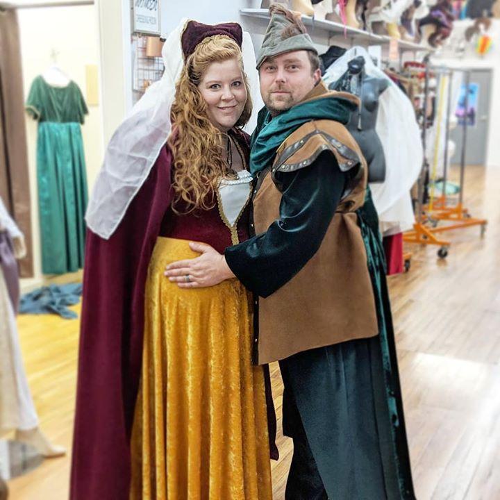 Robin Hood and Maid Marian