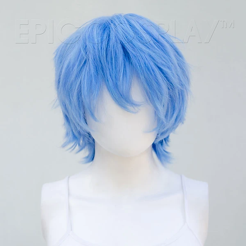Apollo Light Blue Mix Wig