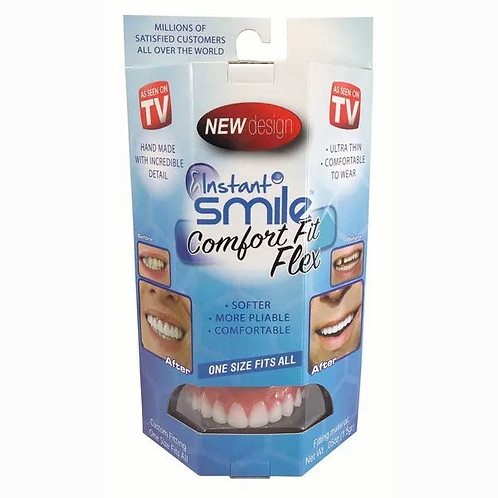 Instant Smile Comfort Fit- Upper teeth