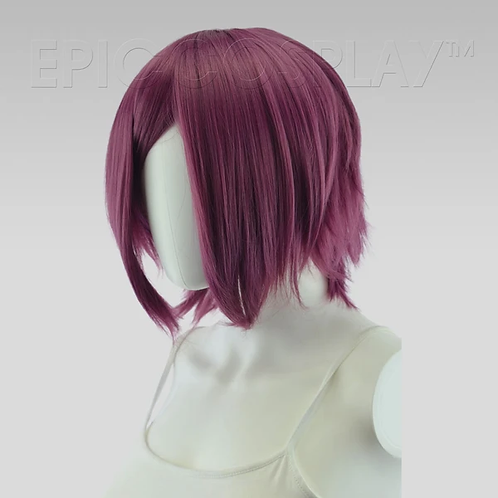 Aphrodite Dark Plum Purple Wig