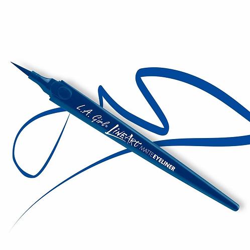 Line Art Matte Eyeliner - Cobalt Blue