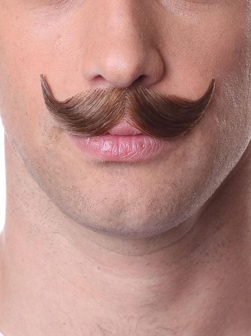 Mustache style 933- Charcoal/Salt & Pepper