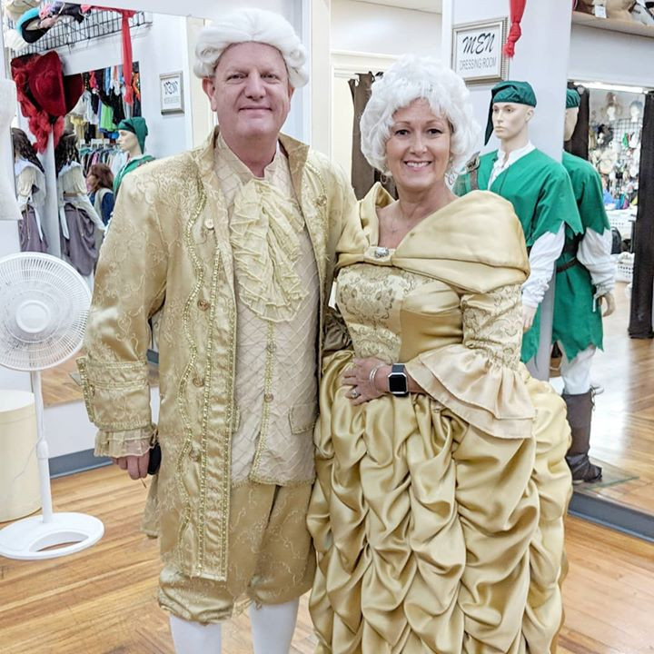 1700s Lord and Lady