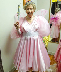 Here's Anne in the tooth fairy costume I