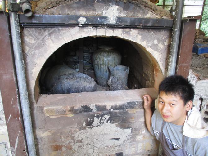 三島 海棠窯
