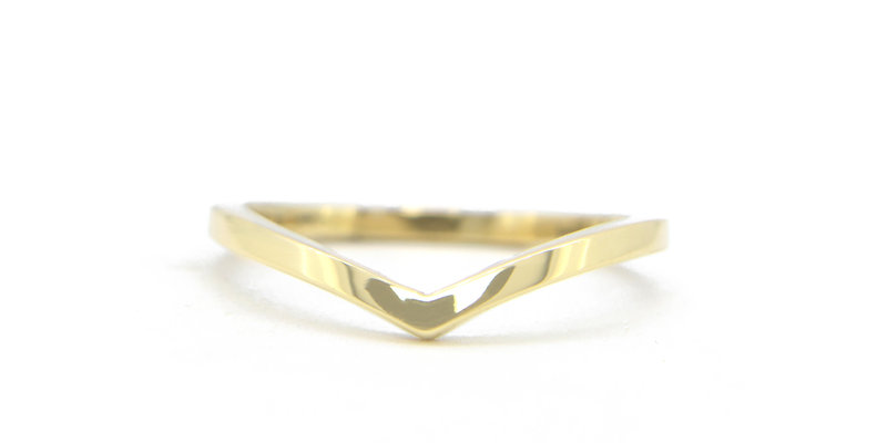V shaped ring - Pièce Unique