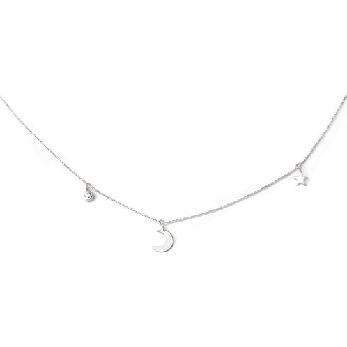Ketting 'love you to the moon and back'