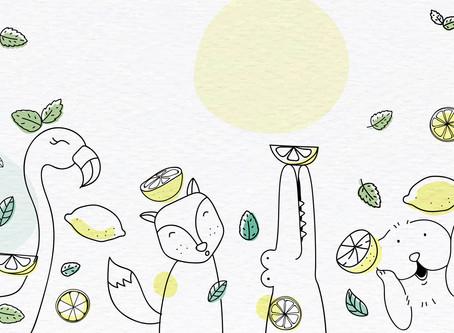 Receta de pie de limón fácil para hacer con los niños