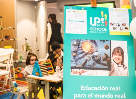 Up! Kids School en la Feria de los Colegios 2020