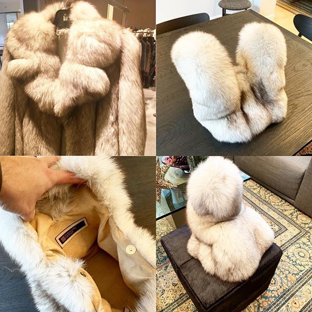 #upcycle #fox #fur #handbag