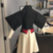 Loving the back on this garment! Silk ta