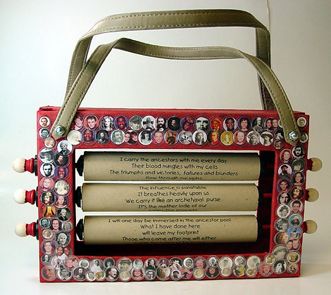 The Ancestor Purse Altered Book