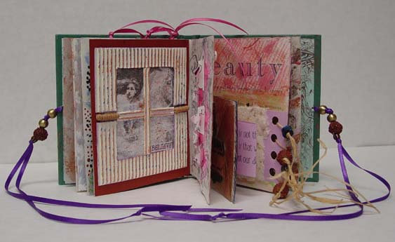 I Believe In Me Altered Book