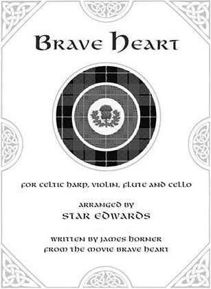Brave Heart - Celtic Harp & Cello (Digital)
