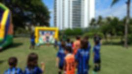 Evento com Chute a Gol