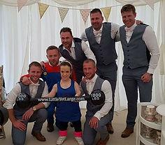 Wedding dwarf entertainer
