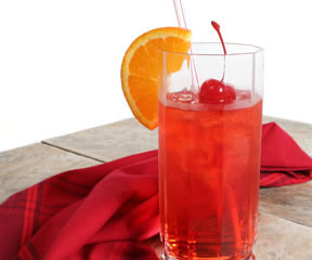 The Shirley Temple Mocktail