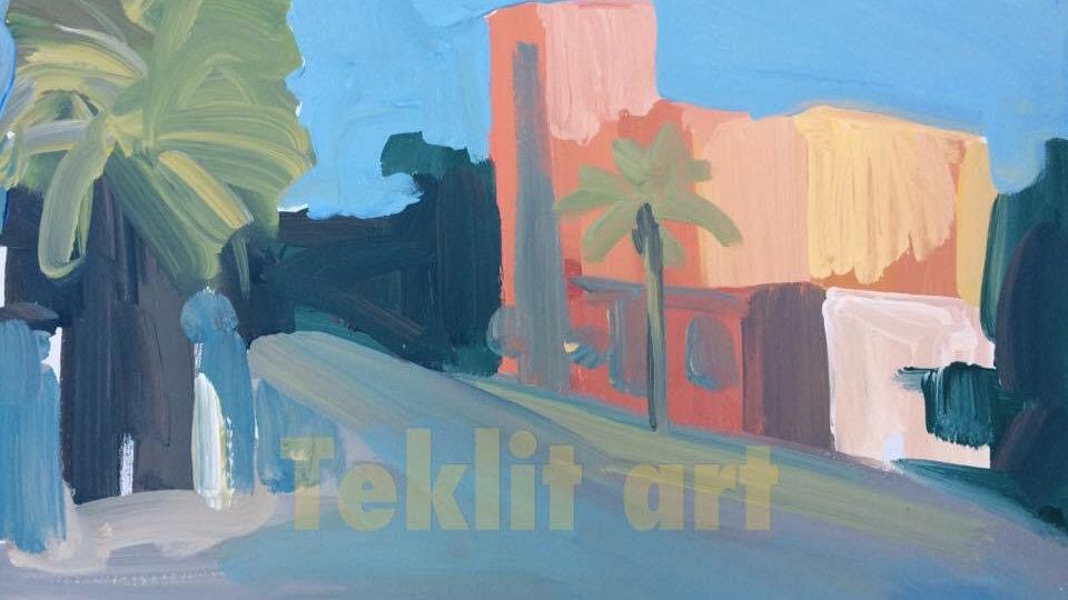 Asmara 18x24 Acrylic on canvas