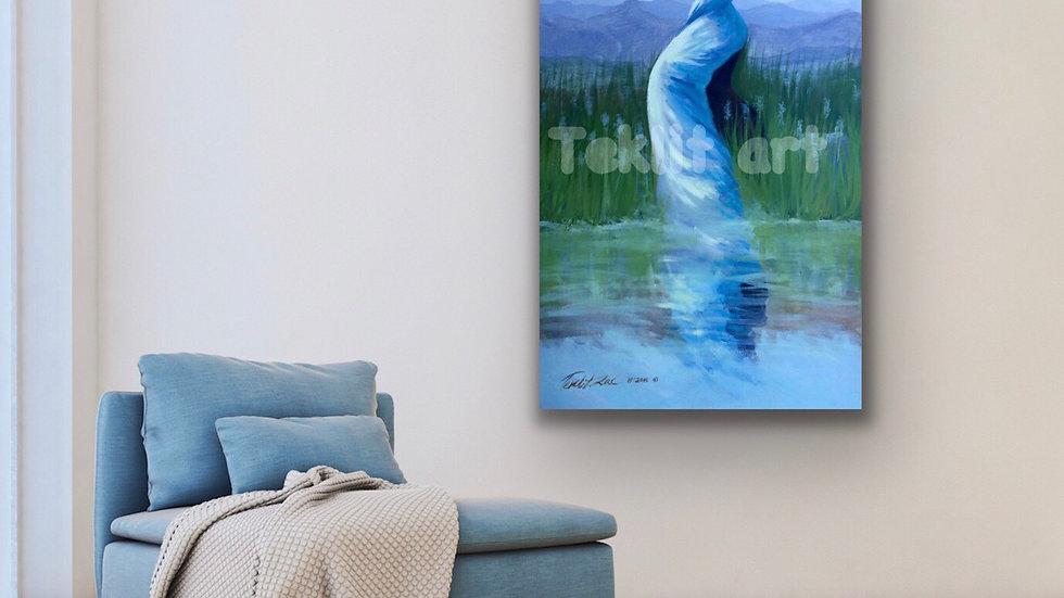 48x30 print on canvas