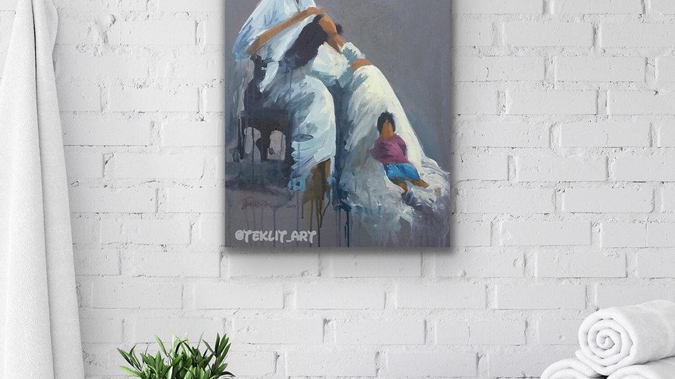 30x24 print on canvas