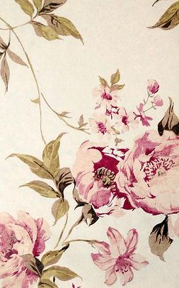 ピンクの花を印刷