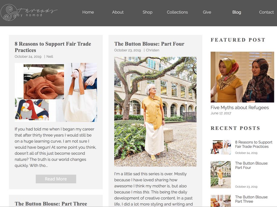 Threads Blog