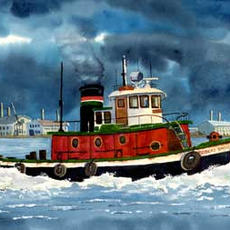 Chesapeake Watercolors by Dave Murphy
