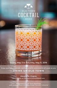 Old Town Drinks - Poster