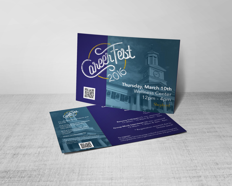 Careerfest Postcard Mockup
