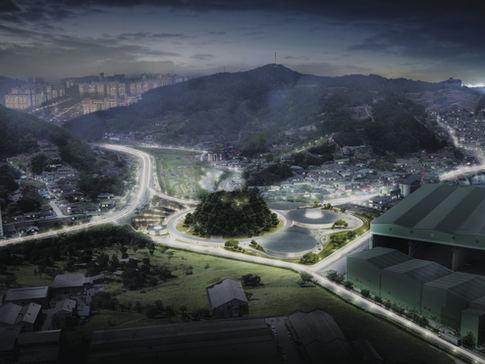 Concorso Yisabu Memorial park, Sud Corea