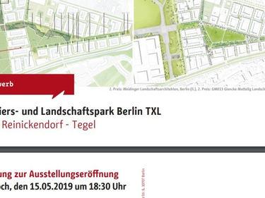 Vernissage_2 fase/ Quartiers- und Landschaftspark Berlin TXL Berlin Reinickendorf - Tegel