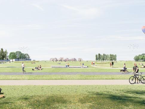 2 fase/ Quartiers- und Landschaftspark Berlin TXL Berlin Reinickendorf - Tegel - LANDSCHAFTSPARK