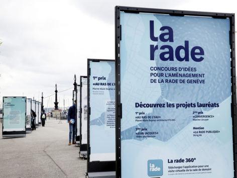 Concours La Rade, Geneve CH - exposition des projets