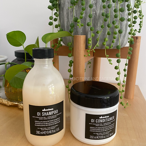 Oi Shampoo and Conditioner Duo