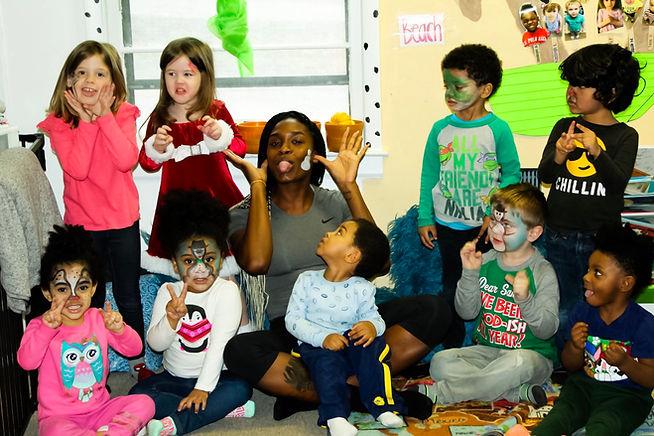 Kidding Around Child Care Center Christm