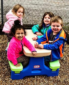 Kidding Around Child Care Outside Fun