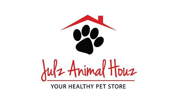Pet dog cat Paw playful funny logo versi