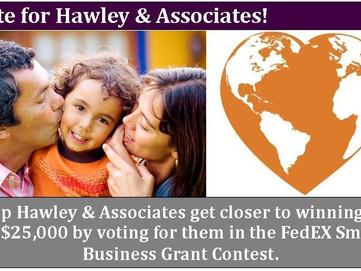 Vote for Hawley & Associates!