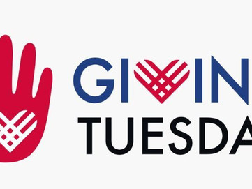 Giving Tuesday Is Here!  What Will You Give?