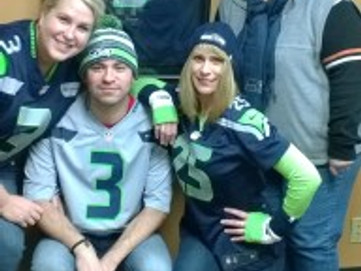 Hawley & Associates…showing our Seahawks pride!  GO HAWKS!