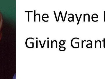 Accepting Applications for the 2018 WAYNE HAWLEY GIVING GRANT!