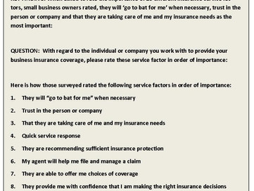 How Does Your Insurance Broker Rate?