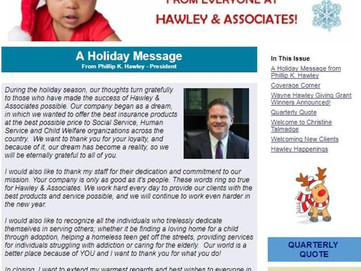 Hawley & Associates' 4th Quarter Newsletter!