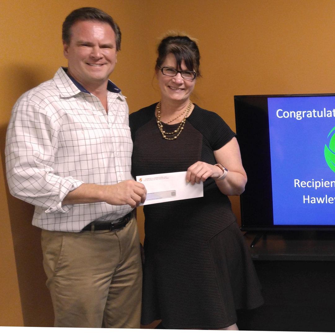 2016 Wayne Hawley Giving Grant Recipient
