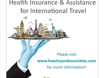 Hawley & Associates Now Offering GEOBLUE INTERNATIONAL HEALTH INSURANCE & ASSISTANCE!