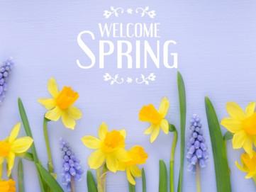 Happy Spring from Hawley & Associates!