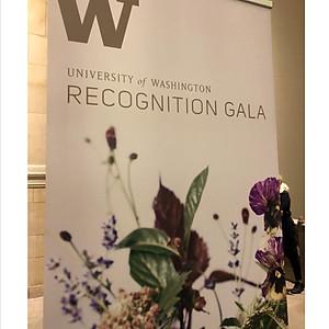 University of Washington Recognition Gala-Seattle, WA.