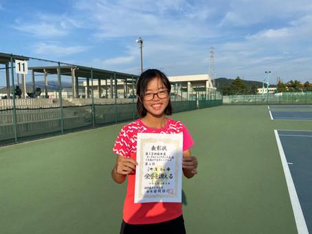 福井県オータムジュニアテニストーナメント