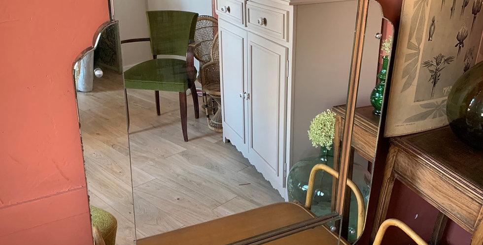Miroir Art Déco sur pied