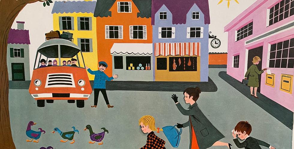 Affiche Fernand Nathan 1968
